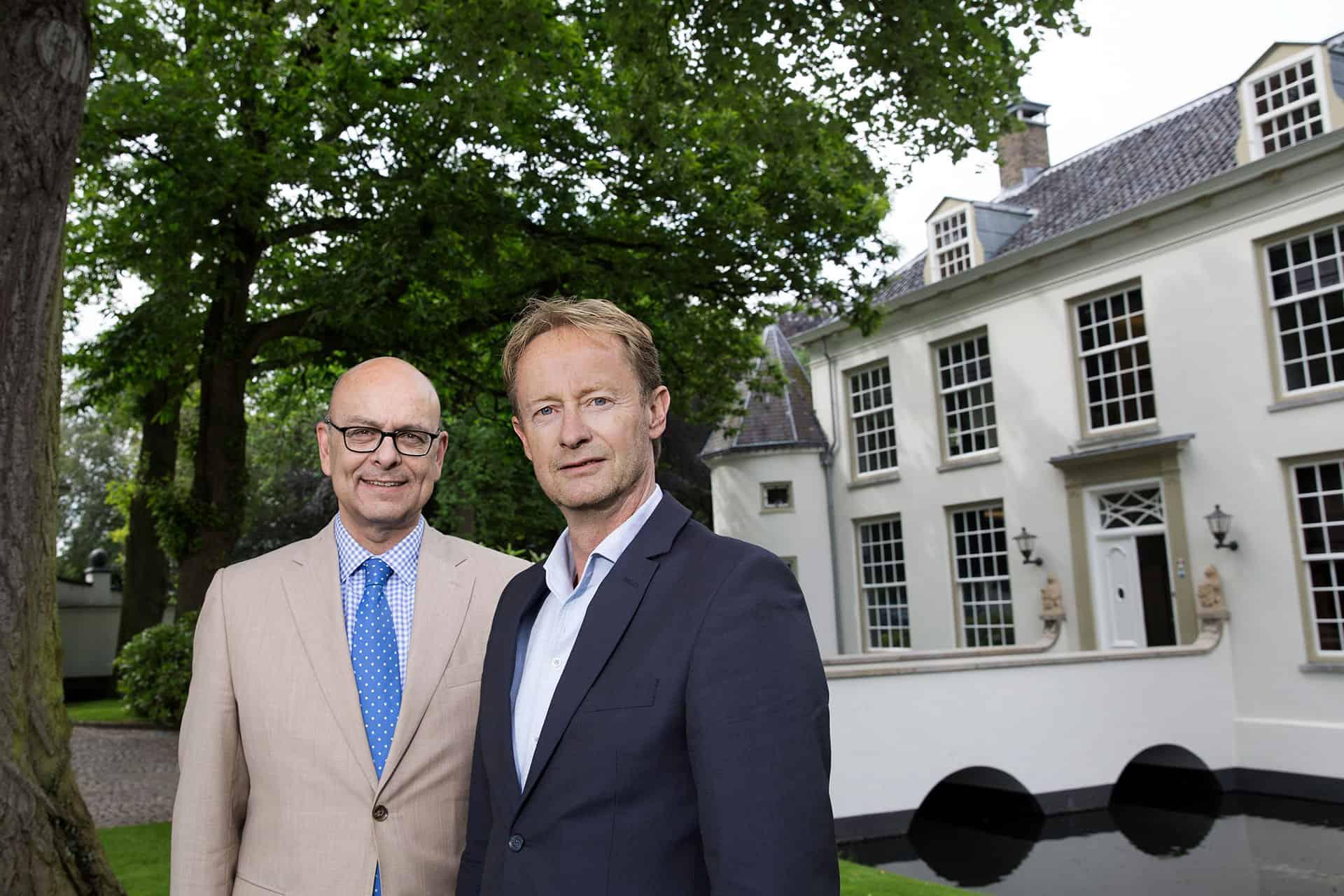 leiderschapscoaches Toon van Mierlo en Reinwout Schram