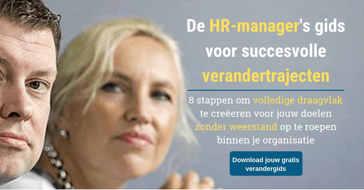 De HR-manager's gids voor succesvolle verandertrajecten 8072019